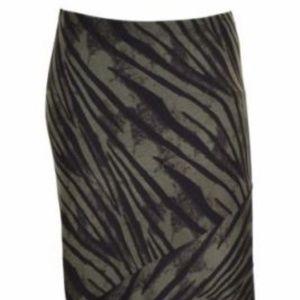 Matty M Long Full Length Maxi Skirt